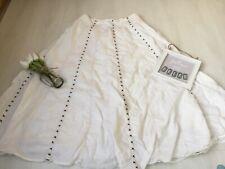 Next Sz 14 Long White Full Maxi Skirt