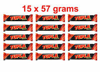 15 x TUPLA Maxi Finnish Cocoa Nougat & Almonds Chocolate Bar 15 x 50g 2oz