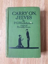 Carry On, Jeeves - P.G. Wodehouse - 3rd printing - Herbert Jenkins