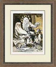 """Original 1900 """"Le Noel des Animaux"""" by Artist François Kupka for Cocorico"""