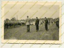 Foto, Jugend Zusammentreffen mit Panzermännern in Freienhufen (W)19940