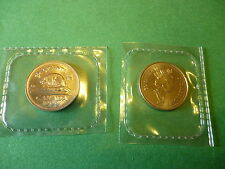 1999P Canada 5 cents, Proof-Like Mint Sealed, from test set.