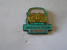 pins renault 8 gordini association trophée R8 gordini