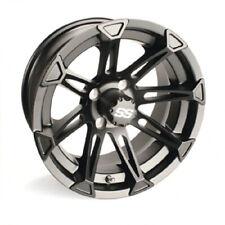 (1) Golf Cart Ss Explorer 14 inch Matte Black Wheel With 3:4 Offset