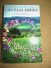 If You Could See Me Now Paperback Book by Cecilia Ahern, EUC