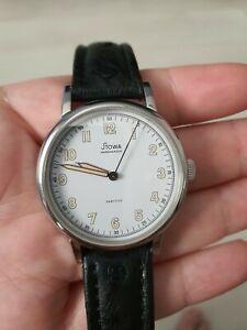 Stowa Partitio Men's Watch - Mechanical - Sapphire Open Caseback - Full Set