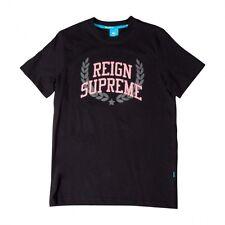 King Apparel streetwear SS13-Reigh Supreme Logo T-Shirt-Da Uomo Taglia Small