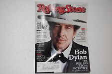 Rolling Stone Issue #1166 September 27, 2012 Featuring Bob Dylan on the cover