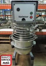 Varimixer W30 Commercial 30 Qt Mixer w/ 3 Attachments & Bowl Guard