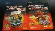 Transformers G1 Brawn And Cliff Jumper Keychain