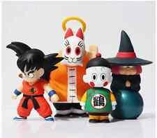 Dragon Ball, Figure 4pcs/set Son Goku, Master Roshi, Chaos.PVC. Anime. Manga