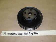 OEM 72 Mercedes 350SL 107 R107 C107 4.5L M117 ENGINE 2 GROOVE WATER PUMP PULLEY