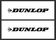 DUNLOP STICKERS / DECALS x 2