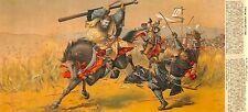 Various Artists Yamato Sakura Japanese History Battle Picture Album Print No. 7