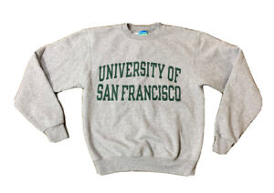 University Of San Francisco Crewneck Champion Sweatshirt Size Small