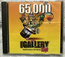 Classic Software- 65,000 Corel Gallery Magic Disc- Win 3.1 Win 95 CDROM- Vintage