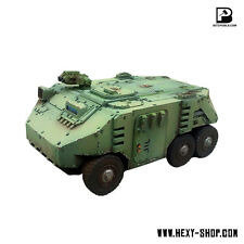 Alternative Wheeled Space Marine Rhino Transporter - Bison APC - Bitspudlo
