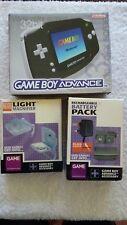 Nintendo Game Boy-Gameboy Advance + batterie + Lumière (boxed)