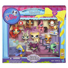 NEW Littlest PET SHOP Collector Pack 10 pc Limited Edition Animals Panther LPS