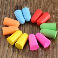 Lots 50 Pairs Soft Foam Ear Plugs Tapered Sleep Noise Prevention Earplugs