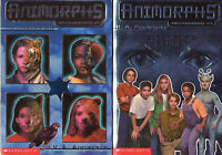 Complete Set Series - Lot of 5 Megamorphs (Animorphs) books by K.A. Applegate YA