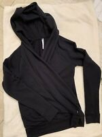 Fabletics Size Small Newport Hoodie Womans Activewear Athletic Black Fleece