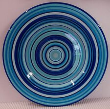 Tabletops Unlimited H2O Dinner Plate BLUE SWIRL Multiple Available