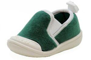 Skidders Boy's XY8701 Green Skidproof Gripper Slipper Shoes