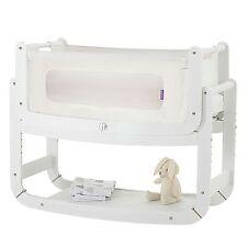 Snuz SnuzPod Bedside Baby Nursery Bedtime Bassinet Crib - 3 in 1 - White