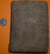 1834 Gazetter of Illinois in Three Parts by J.M. Peck Book Goudy Printer