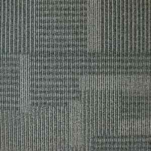Carpet Tile 19.7 in. x 19.7 in. Stain Resistant Solution Dyed Polypropylene Gray