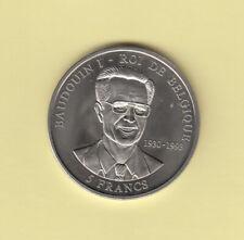 CONGO - 5 Francs 2000 - Baudouin - UNC.