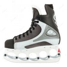 Patins de patinage sur glace et de hockey argenté Taille 39