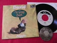 "7"" David I'm Going Back / Selppin Germany 1970 PROMO 