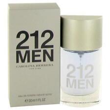 212 by Carolina Herrera Eau De Toilette Spray (New Packaging) 1 oz-30 ml-Men