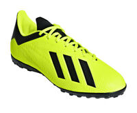 Adidas Men Football Shoes X Tango 18.4 Turf Cleats Soccer Futsal New DB2479