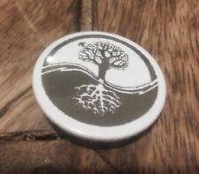 Árbol de la vida insignia de estilo moderno encanto símbolo Nuevo Pagano re-PROMULGACIÓN LARP 25 mm