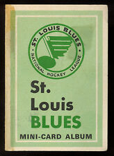 1969-70 OPC O-PEE-CHEE MINI 4 in 1 ST. LOUIS BLUES With 6 stamps JACQUES PLANTE