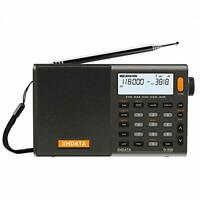 XHDATA D-808 Portable Digital Radio FM stereo/SW/MW/LW SSB RDS Air Band Multi