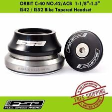 "FSA ORBIT C-40 NO.42/ACB  1-1/8""-1.5"" IS42 / IS52 Bike Bicycle Tapered Headset"