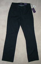 nwt NYDJ NOT YOUR DAUGHTER'S JEANS Black STRETCH DENIM JEANS 6 BOOT 28x33 MadeUS