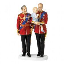 Royal Doulton : Future Kings - Prince Charles, Prince William & Prince George