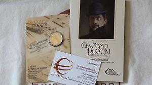 coffret folder 2 euro SAINT MARIN San Marino 2014 PUCCINI Giacomo Сан - Марино