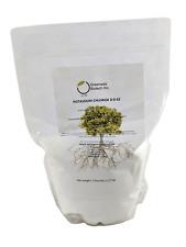 Potassium Chloride 0-0-62 Muriate of Potash Water Soluble Fertilizer 5 Pounds