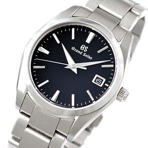 Grand Seiko Heritage Collection SBGX261 Black Dial Watch 9F62 Men's