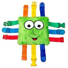 Necesidades especiales autismo Juguetes Niño Brillante De Felpa Con vibrante color Correas Y Hebillas