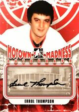12-13 itg motown madness errol thompson detroit red wings autograph auto