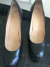 Christian Louboutin Black Pumps with Red Soles Size 37.5 Gently Worn