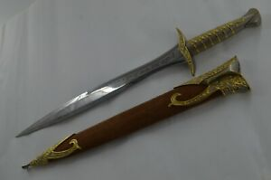 Sting,Full Size Golden Sword Of Frodo Lord of The Rings The Hobbit High Quality