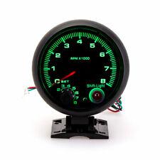 375 95mm Car Tachometer Tacho Gauge Meter Shift 7 Colors Led Light 0 8000 Rpm